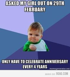for the leap year
