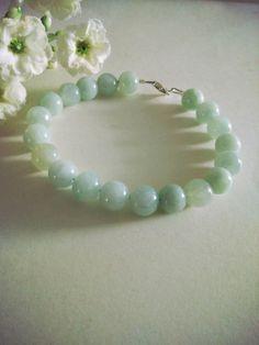 8MM Genuine Grade A Jade Bracelet Gift Ideas. by SwamiJewelry