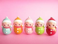 Kawaii Cute Miniature Baby Roly Poly Collection Japanese Toys by Kawaii Japan, via Flickr