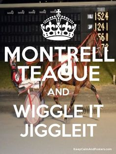MONTRELL TEAGUE AND WIGGLE IT JIGGLEIT   George Teague Stable