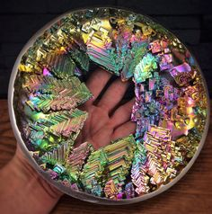 Amazing Bismuth!  Gorgeous colors and crystal growth - perfect for someone who has everything. Element83@Etsy