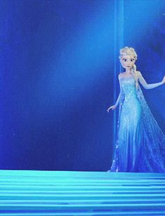 """Wow, Elsa you look different. It's a good different."""