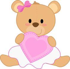 Ursinhos e ursinhas - Karivane_Girl Teddy Bear_1.png - Minus