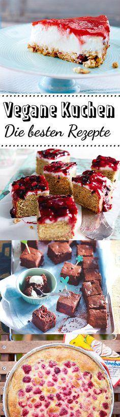 Rein #pflanzlich gebacken: Ob Tofu-Beere, Kirsch-Schoko oder Avocado-Mohn - #veganer Kuchen überzeugt durch Vielfältigkeit und Köstlichkeit.