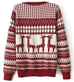 Knitted Giraffe Shirt - Knitwear - Apparel