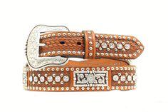 Men's Belt | Nocona Brown Leather Bling Men's Belts, Leather Belts, Brown Leather, Bling, Accessories, Fashion, Moda, Jewel, Fashion Styles
