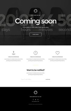 12 Free Coming Soon Template Design Ideas Template Design Coming Soon Templates