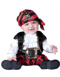Travestimento da pirata per neonato. Costumi Pirata Per NeonatoLook Pirata  Per BambiniCostumi Di Halloween ... 253fde0a6bdc