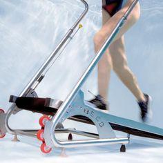 Le tapis de course aquatique ! Pour apporter tous les biens-faits de la course mais sous l'eau !