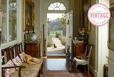 A Lasting Impression: Vintage Entryway Decor