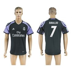 Real Madrid 16-17 Cristiano #Ronaldo 7 TRødje trøje Kort ærmer,208,58KR,shirtshopservice@gmail.com