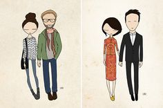 ETSY-custom-couple-wedding-engagement-save-the-date-illustrations5