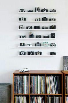 mini exposição de cameras                                                                                                                                                      Mais