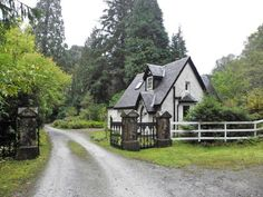 West Lodge, Invergloy, Spean Bridge, Scotland I have always wanted a house with a name.