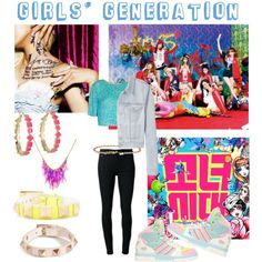 """Girls' Generation I Got A Boy"" by matildakim on Polyvore #statementnecklace"