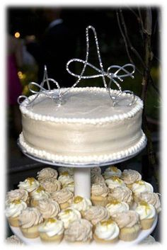 Wedding Cake topper initials