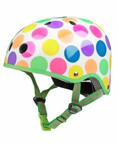 Micro Kickboard Neon Dots Medium Micro Helmet - Toys & Games ...