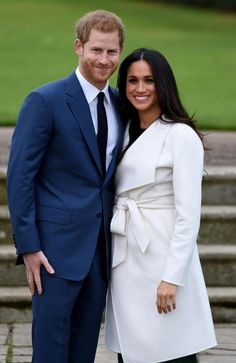 thesun.co.uk: Prince Harry and Meghan Markle have announced their engagement, November 27, 2017; the couple, who were privately engaged earlier in November, will marry in spring 2018. The couple posed for a short photocall in the Sunken Garden at Kensington Palace. Meghan's engagement ring is made from diamonds-2 from the Prince's late mother Diana, Princess of Wales, and 1 from Botswana.