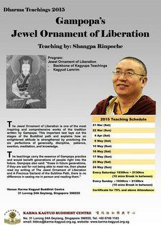 Karma Kagyu Buddhist Centre located at 31 Lorong 24A Geylang Singapore 398555. Tel: 67491103