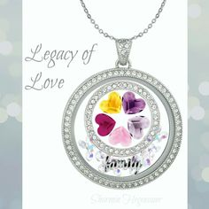 The new Legacy Locket from Origami Owl is strikingly beautiful!!!  The possibilities are endless! http://carissasstory.origamiowl.com