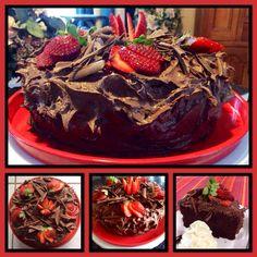 Moist Chocolate Cake |