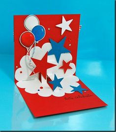 Pop up card instructions cards pinterest cards craft and card inside of patriotic card m4hsunfo