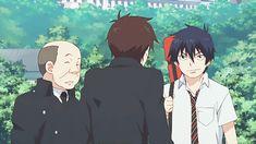 Yukio: you can't be here! Rin: tough shit