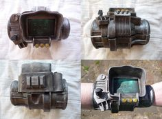 Obvious Winner - ow - Fallout 3 Pip Boy 3000 iPhone Mod Guaranteed to Turn Some Heads Fallout 3 Pipboy, Pip Boy, Metroid, Metal Gear, Dieselpunk, Robot, Things To Come, Deviantart, Iphone