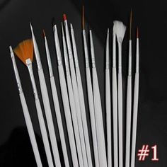 #Priceabate New Strip Tape Dotting Pen Dust Powder 3D UV Gel Brush Pen Best for Nail Art Set - Buy This Item Now For Only: $203.34