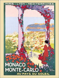 Roger Broders vintage travel posters
