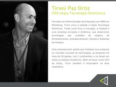 Completando a mesa de debates da 2a edição do Conexão Empresarial, contamos com a presença do empresário Tironi Paz Ortiz, nosso 4o participante do seleto grupo que irá debater temas atuais sobre inovação e empreendedorismo. Saiba mais !