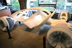 autodesk 3D printed car