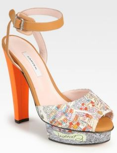 Foot Prints: Perfect Pair of Patterned Shoes