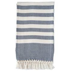 Classic Stripe Throw Blanket