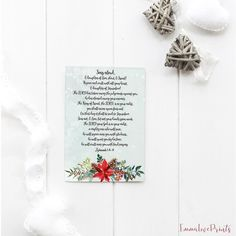 Bible Verse Prints, Zephaniah 3 Scripture Prints, The Lord your God is in your midst Zephaniah 3 17, Verses For Cards, Christmas Time, Bible Verses, Lord, Artwork, Prints, Etsy, Work Of Art