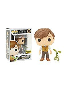 Funko Pop! Fantastic Beasts Newt Scamander & Picket Exclusive Vinyl Figures: Amazon.co.uk: Toys & Games