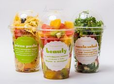When we talk about cloud kitchen Branding, nothing comes between you and food. Salad Packaging, Food Packaging Design, Coffee Packaging, Bottle Packaging, Fruit Recipes, Clean Recipes, Healthy Recipes, Restaurant Branding, Best Meal Delivery