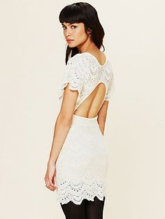 Nightcap Flutter Spanish Lace Dress at Free People Clothing Boutique