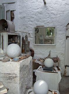 Barbara Hepworth sculpture studio 3