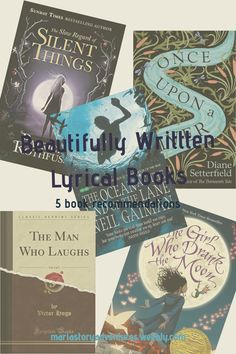 5 lyrical book recommendations #bookrecommendation #lyricalprose #lyricalbooks #beautifulwriting The Thirteenth Tale, The Man Who Laughs, New Times, Book Recommendations, Good Books, Blogging, Lyrics, How Are You Feeling, Entertainment
