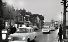 1961 Hammersmith Bridge Road Shepherds Bush, Fulham, West London, Over The Years, 1960s, Broadway, Bridge, Street View, Lost