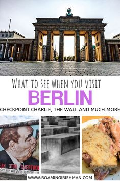This Berlin Travel Guide is the perfect starting point for planning a trip to Germany's capital. Berlin is a historic city that is on every bucket list. Berlin Travel, Germany Travel, Travel Europe, Overseas Travel, Usa Travel, Berlin Food, Berlin City, Berlin Germany, Munich