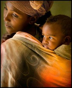 Rwandan mother and child.