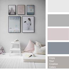 Bedroom Wall Colors, Bedroom Color Schemes, Paint Colors For Living Room, Paint Colors For Home, Room Paint, Home Decor Bedroom, Beach Color Palettes, House Color Palettes, Beach House Colors