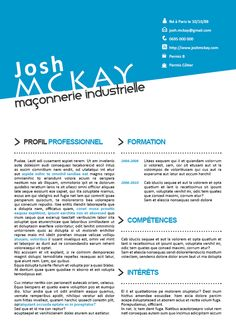 exemple cv atypique 46 best CV Originaux images on Pinterest | Curriculum, Resume and  exemple cv atypique