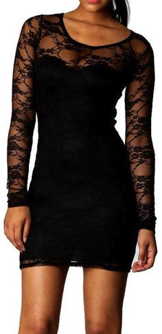 Black lace dress- Kevin's homecoming