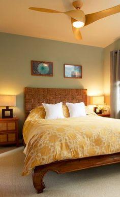 🔔 79 cozy hawaiian bedding inspiration to your bedroom makeover 47 Bedroom Fan, Wicker Bedroom, Bedroom Decor, Wicker Headboard, Bedroom Ideas, Master Bedroom, Bedroom Styles, Bedroom Lighting, Bedroom Colors