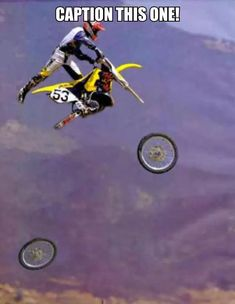 Motocross Fail by symanovitch - Meme Center - So Funny Epic Fails Pictures Dirtbike Memes, Motocross Funny, Motocross Quotes, Dirt Bike Quotes, Motorcycle Memes, Motorcycle Dirt Bike, Biker Quotes, Motocross Bikes, Futuristic Motorcycle