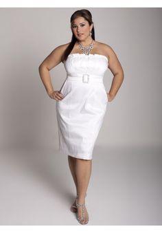 Stylish plus size dresses wedding