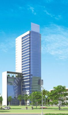 Front View - Floreal Towers by Orris at New Gurgaon State Art, Towers, Art And Architecture, Skyscraper, Multi Story Building, House, Skyscrapers, Tours, Home